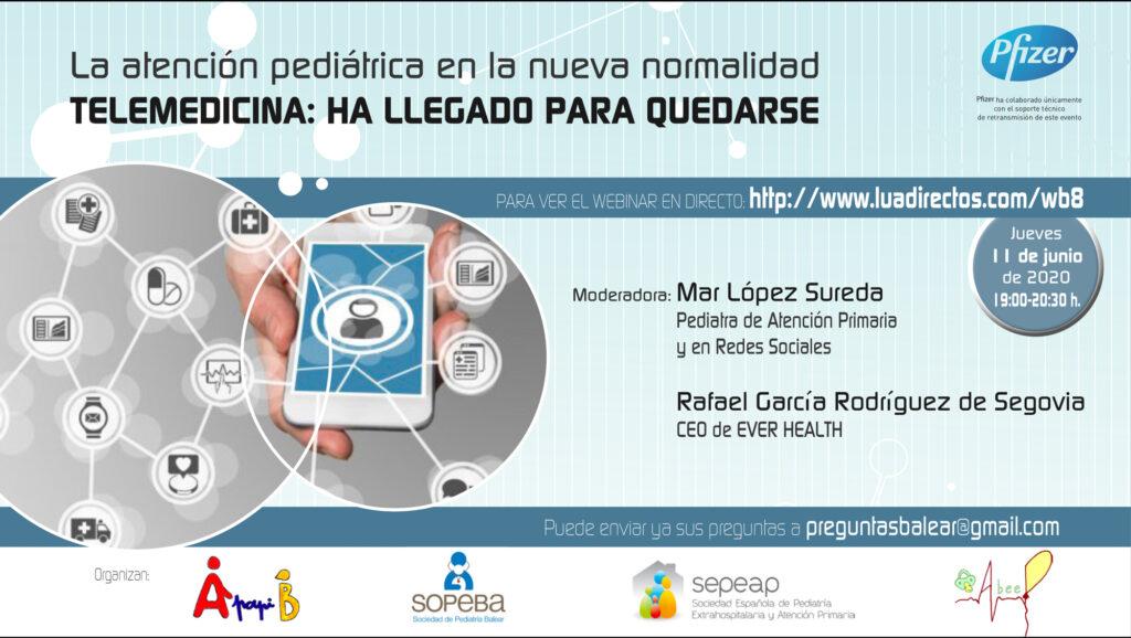 Webinar: Atención pediátrica en la nueva normalidad